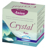 Absorbante Crystal Anion Extra 9 bucati
